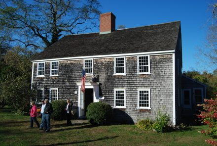 The Nye Family Homestead building from 1678