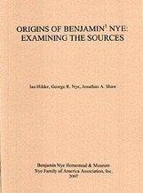 Origins of Benjamin Nye